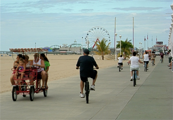 Ocean City has extended Boardwalk bicycling hours until 11 a.m. Monday through Friday