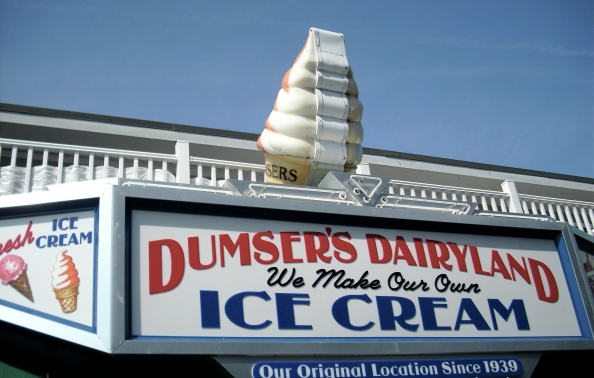 A tradition since 1915! That's a lot of ice cream on the Boardwalk.