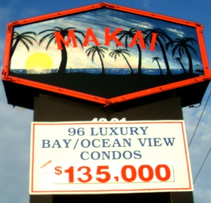 Condos remain available at The Makai, three months after the auction.
