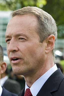 GOV. MARTIN O'MALLEY Jay Baker photo, Wikimedia Commons