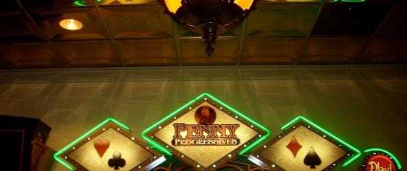 Ocean Downs Casino, interior shot